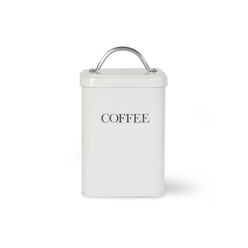 Coffee Canister in Chalk