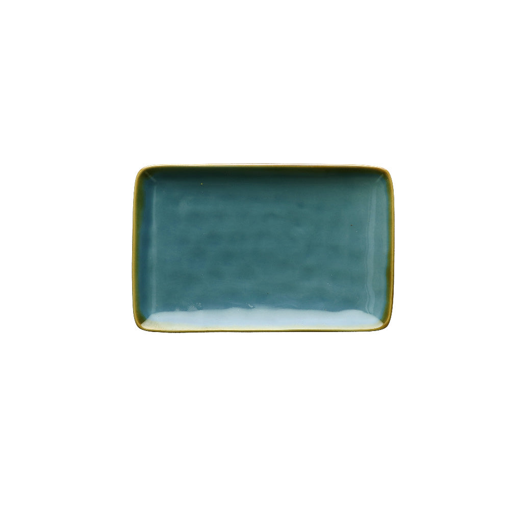 Blue Rectangular Tray - Small