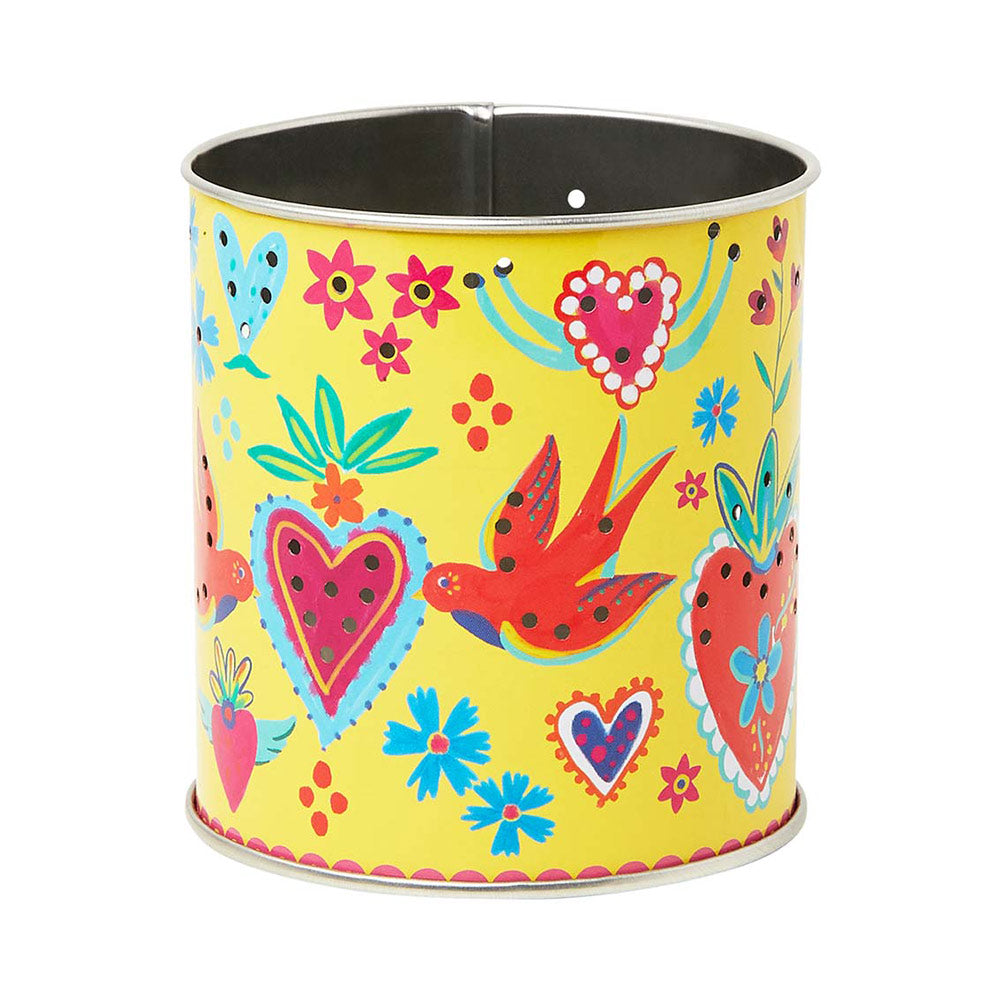 Printed Tin Tealight Holder