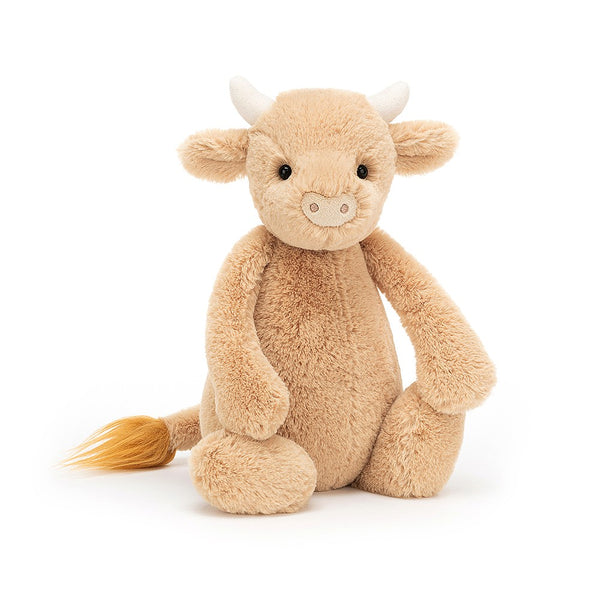 Jellycat Bashful Cow Medium Soft Toy