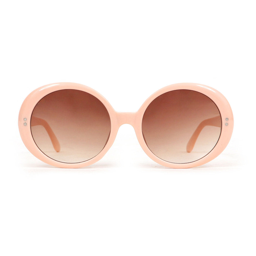 Powder Callie Sunglasses in Pale Pink