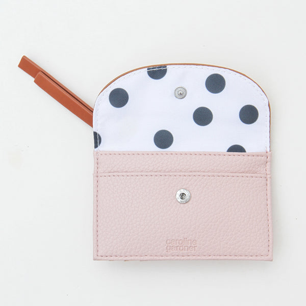 Rose Gold & Pink Cardholder Coin Purse