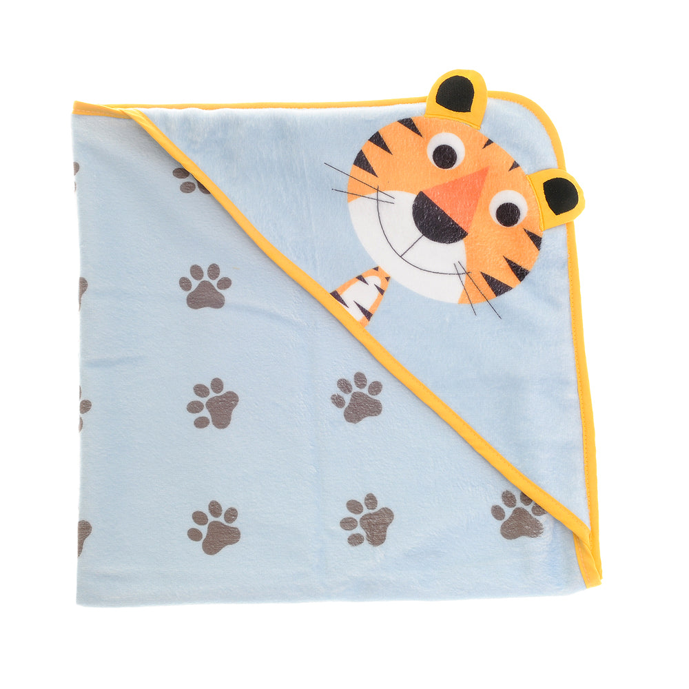 Terrence Tiger Bath Towel