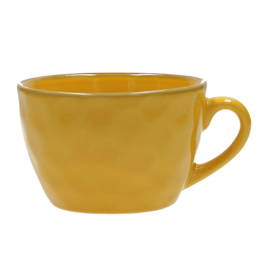 Yellow Breakfast Cup