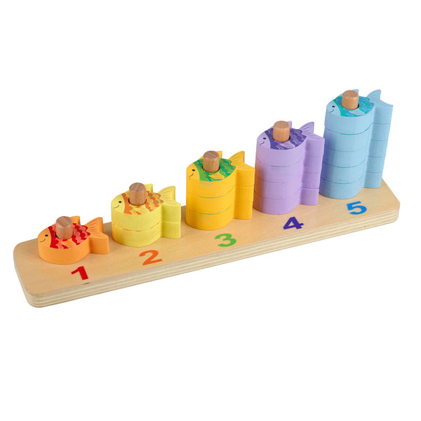 Counting Fish Stacking Game