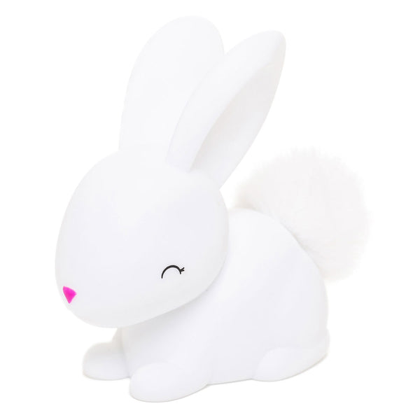 White Bunny LED Night Light