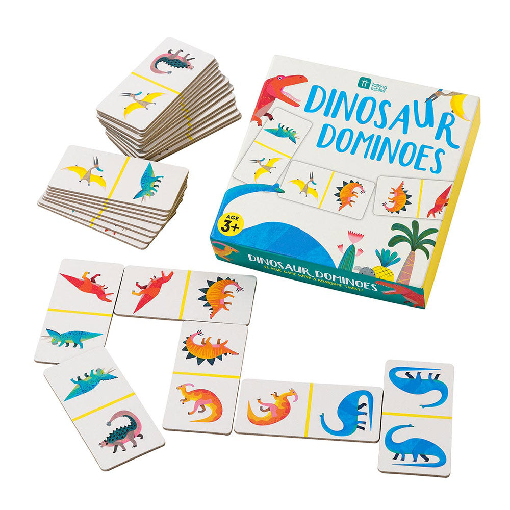 Dinosaur Dominoes Game