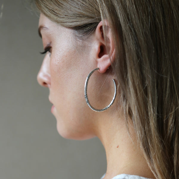 Resort Earrings in Silver