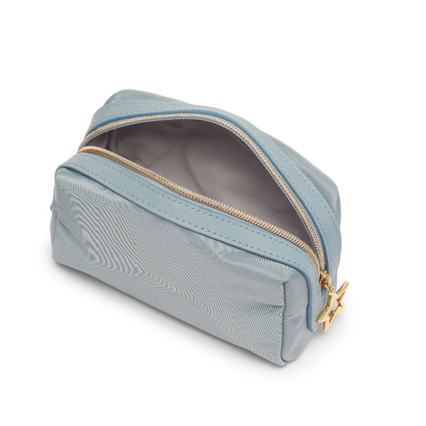 Light Blue Make Up Bag