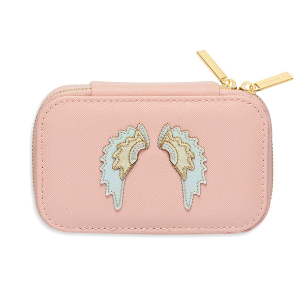 Blush Jewellery Box with Wings