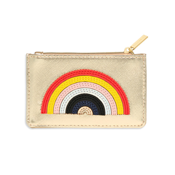Card Purse with Rainbow