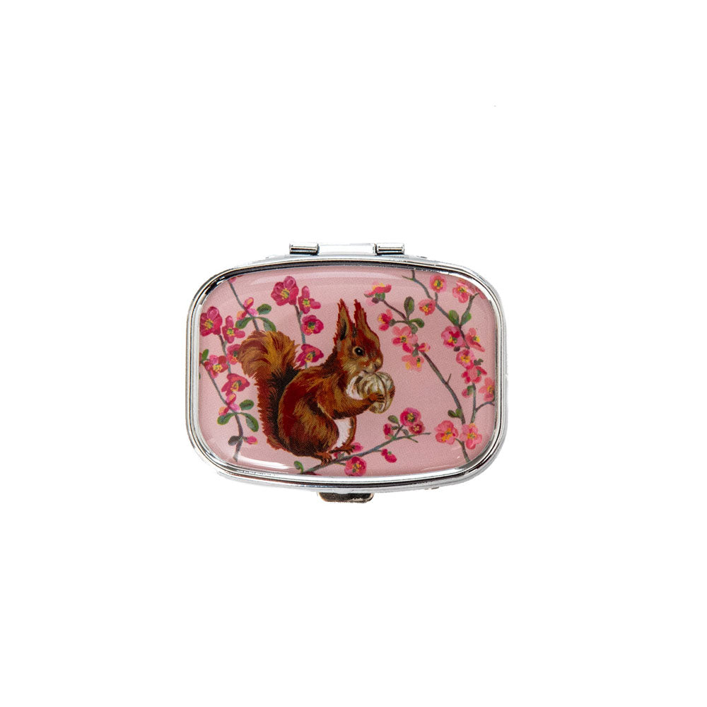 Vintage & Co Forest Folk Compact Mirror Lip Balm