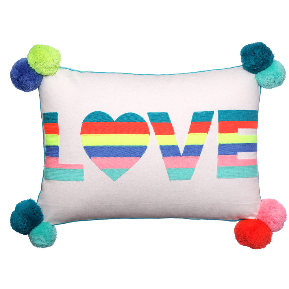 Love Multi Colour Cushion