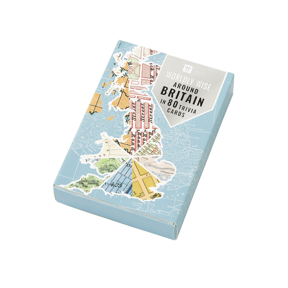 Around Britain In 80 Trivia Cards