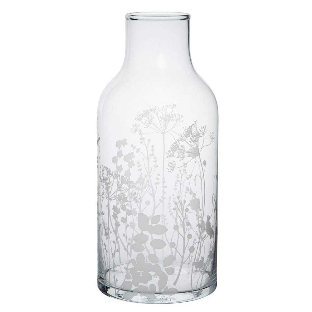 Glass Vase - Meadow Flowers