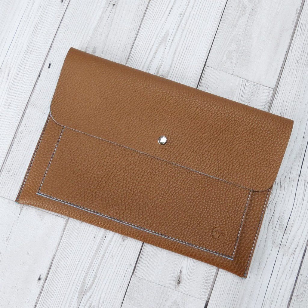 Tanimbar Tech Pouch in Tan