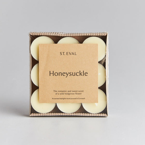 St Eval Honeysuckle Tealight Candles