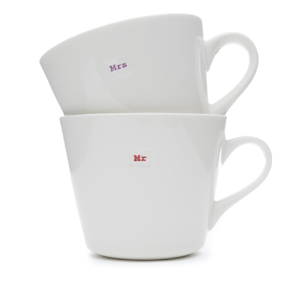 Keith Brymer Jones Mr & Mrs Mugs