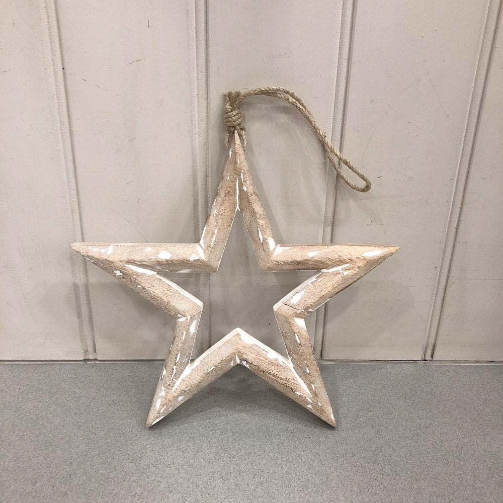 Large Hollow Star Decoration