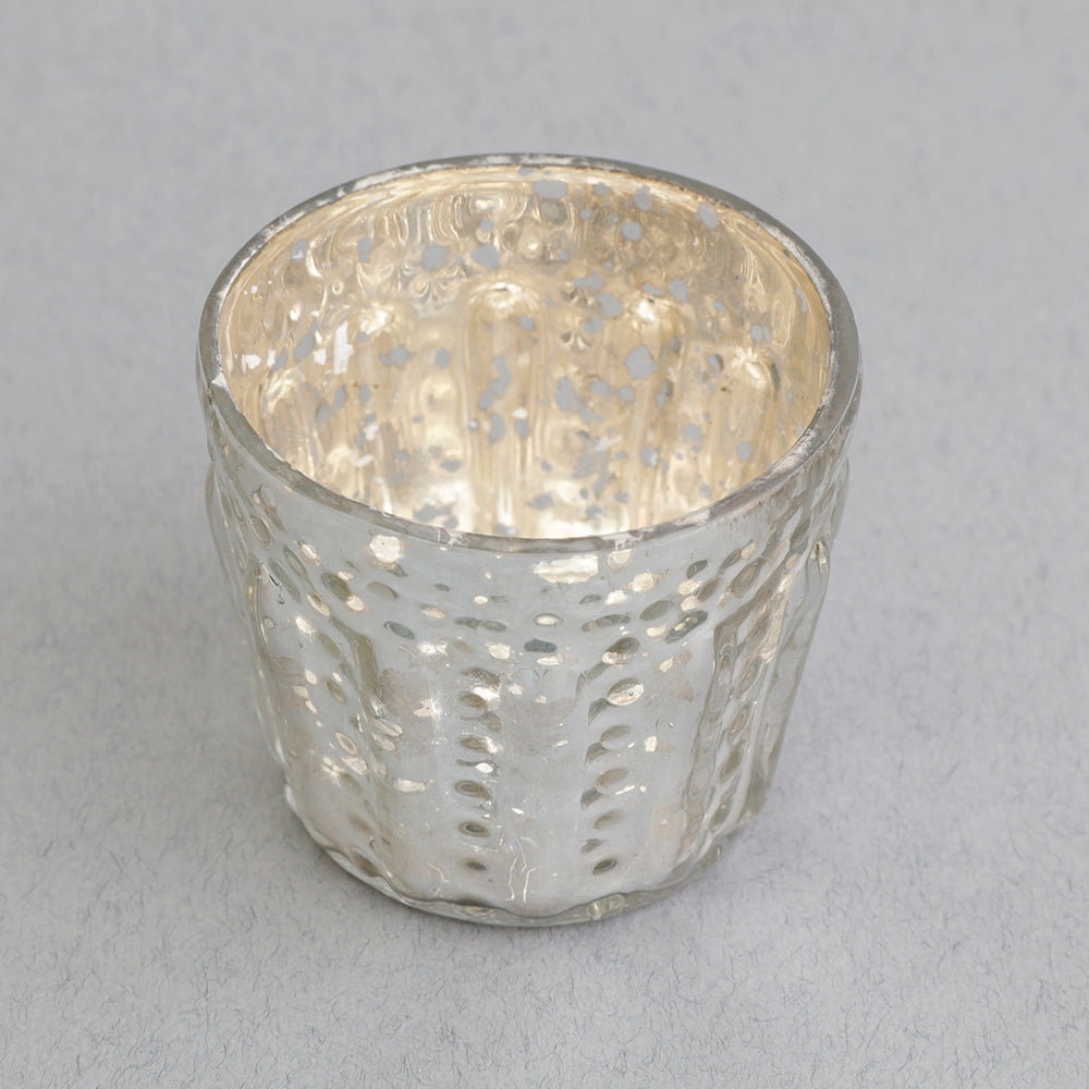 Mini Tealight Holder in Silver
