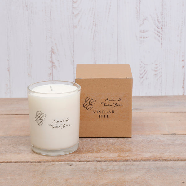 Amber & Tonka Bean Aromapot Scented Candle