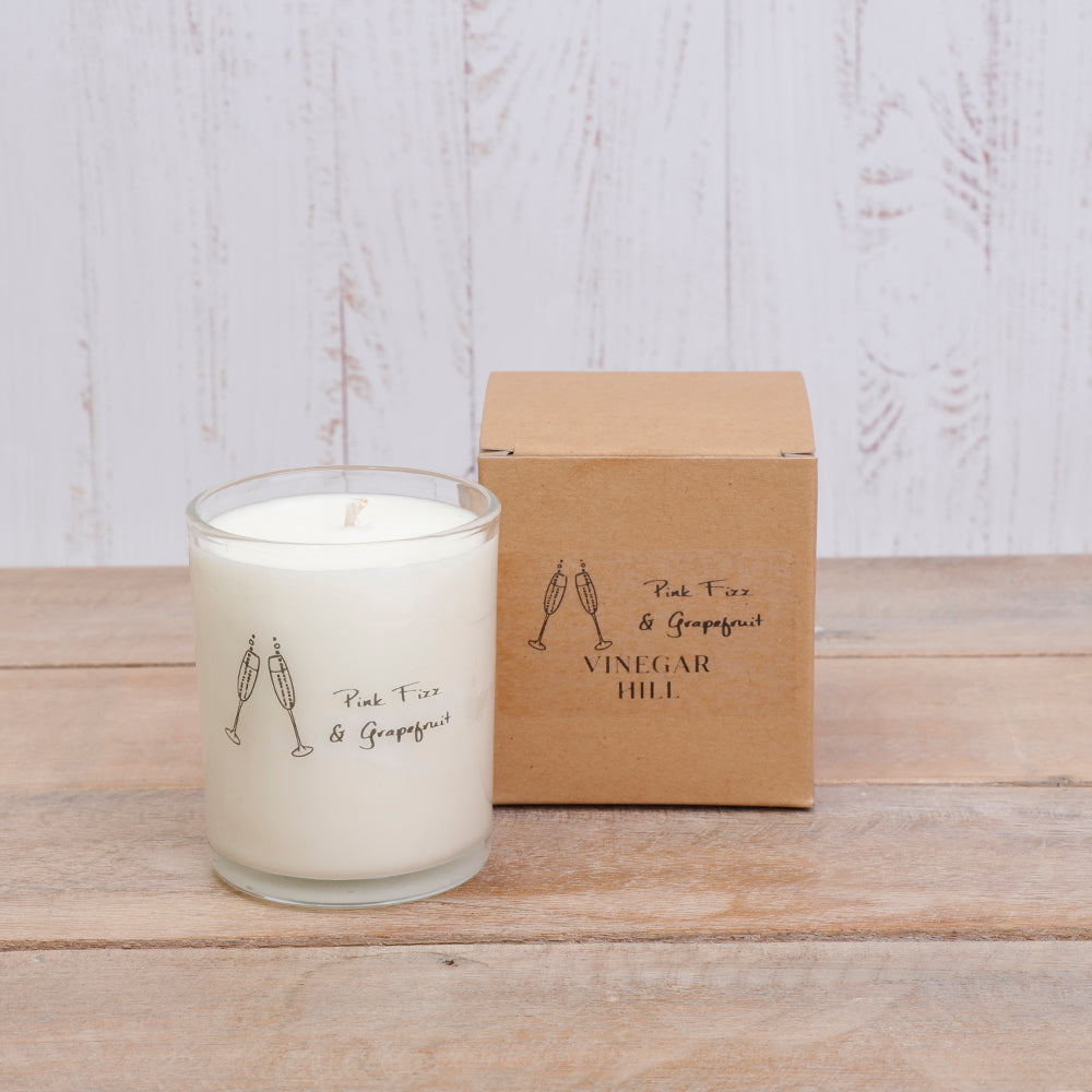 Vinegar Hill Candle - Pink Fizz & Grapefruit