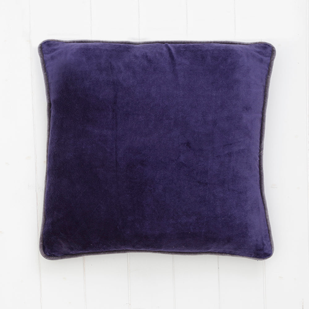 Cushion Velvet Indigo