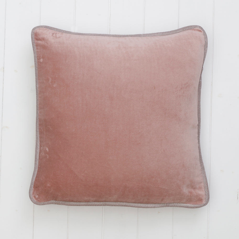 Cushion Velvet Mauve