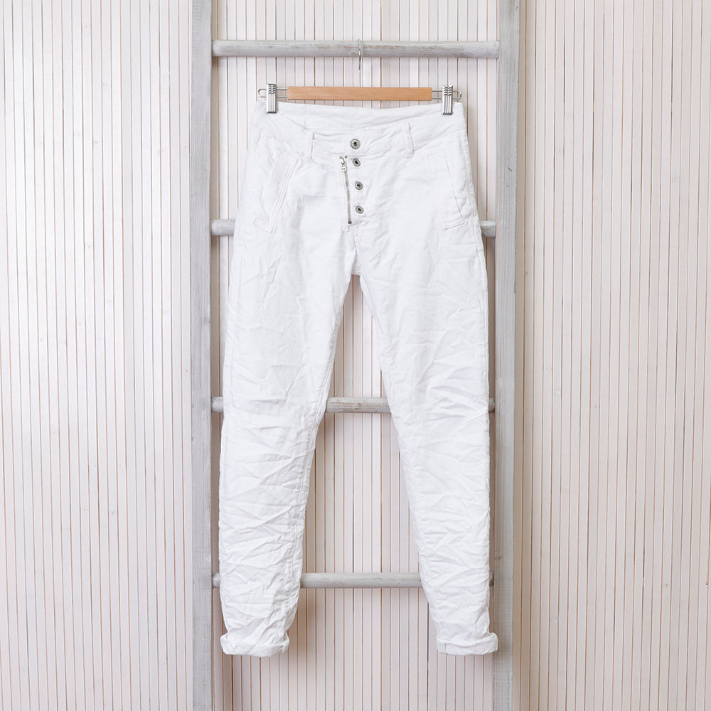 Melly & Co White Jeans