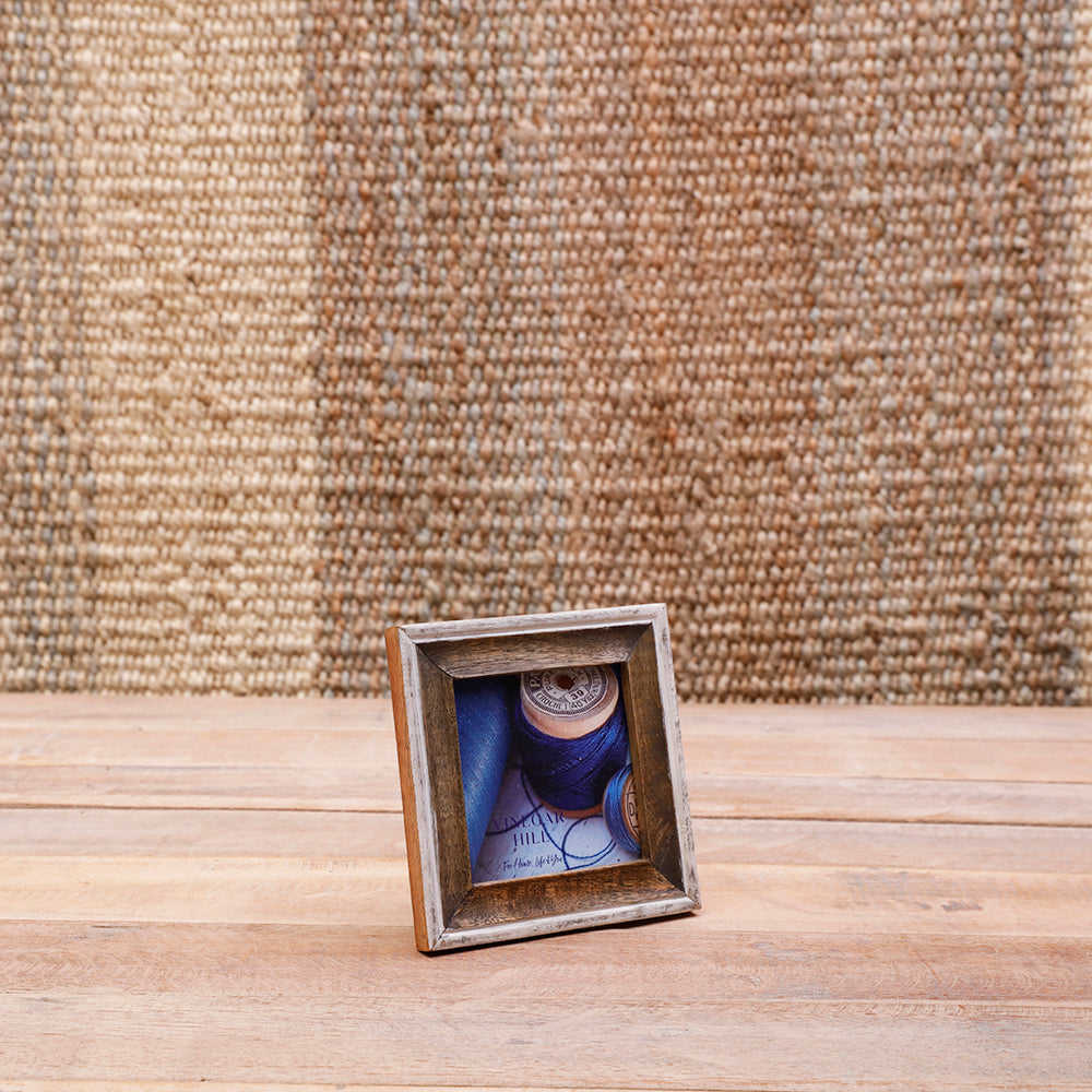 Square Mango Wood Moulded Photoframe