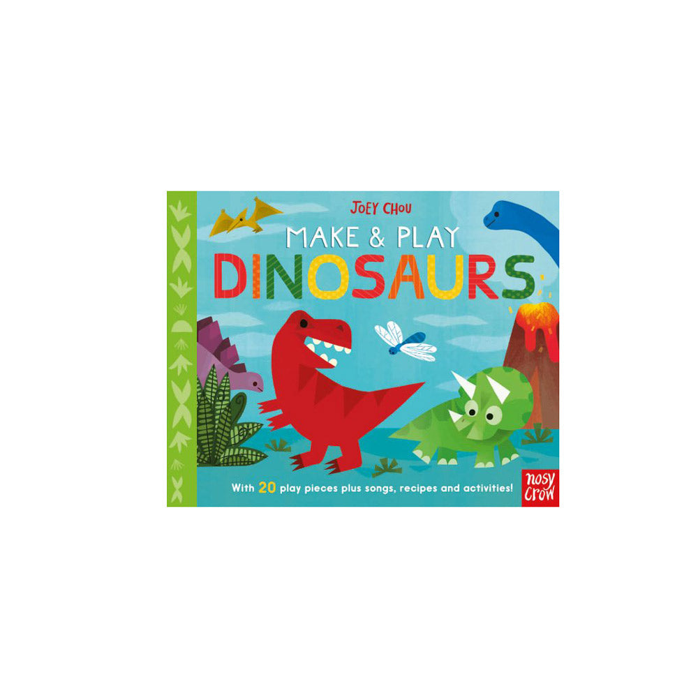 Make & Play Dinosaurs Activity Book