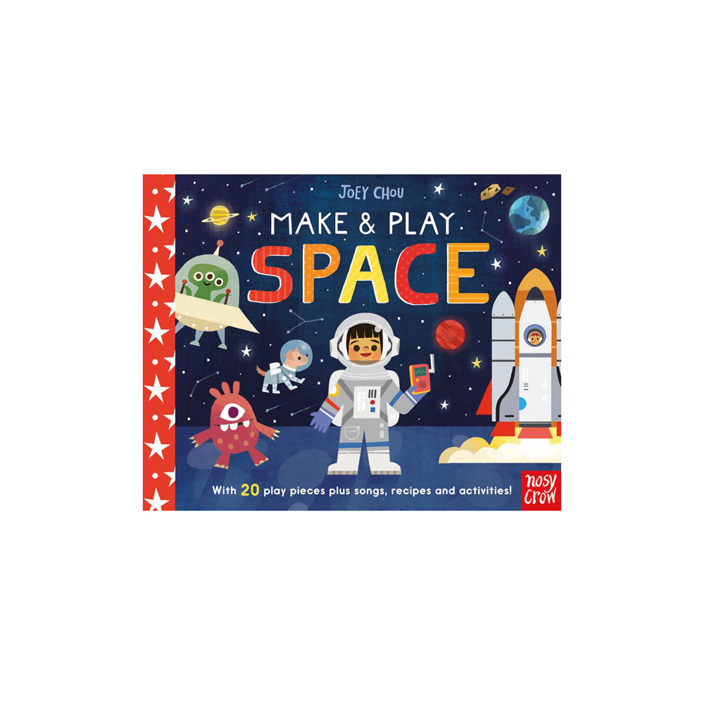 Make & Play Space Activity Book