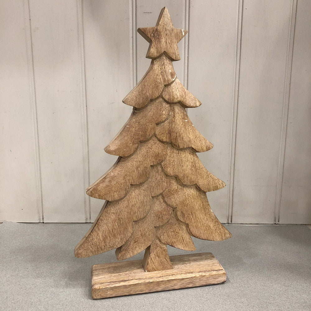 Mango Wood Standing Tree - Large