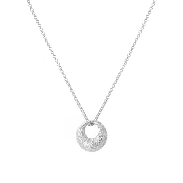 Dome Necklace in Silver
