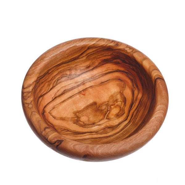 Round Olive Wood Dipping Bowl