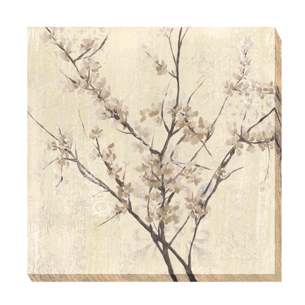 Neutral Blossoms On Cream I