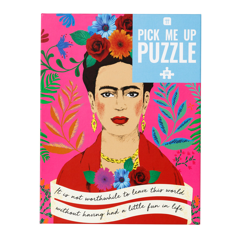 Pick Me Up Puzzle - Frida Kahlo