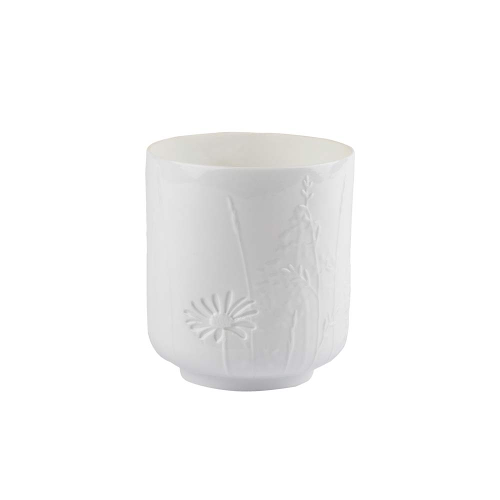 Poetry Candle Holder - Grasses & Blossom