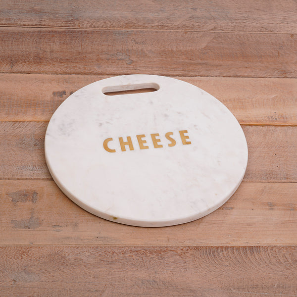 White Marble Cheese Board