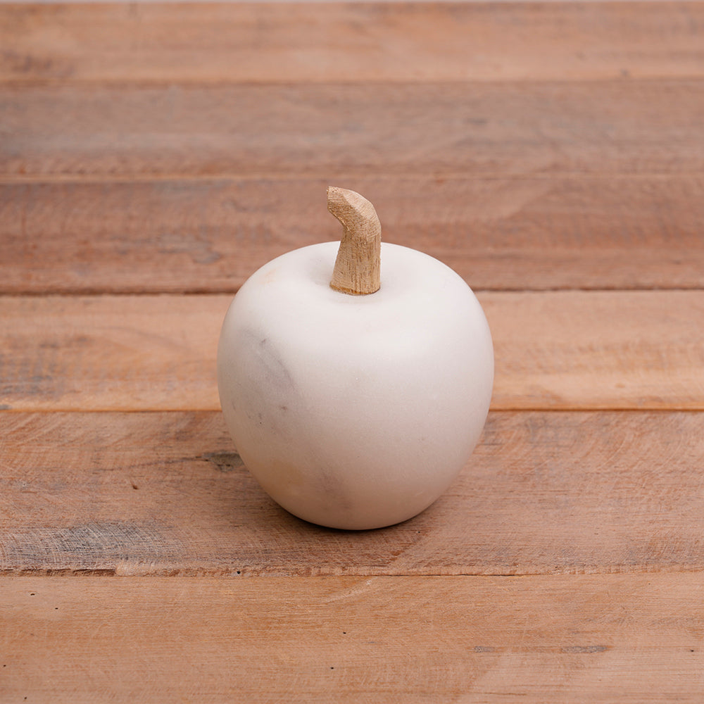 White Marble Apple
