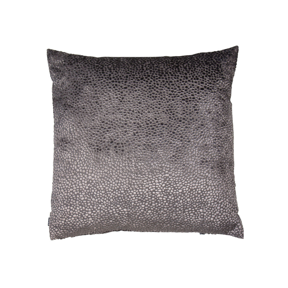 Burnt Silver Velvet Cushion