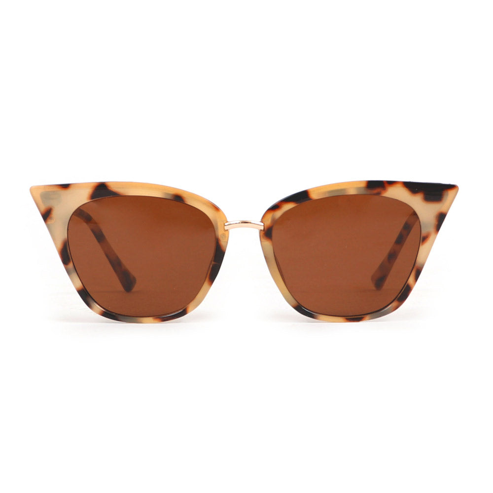 Powder Sophia Sunglasses in Tortoiseshell