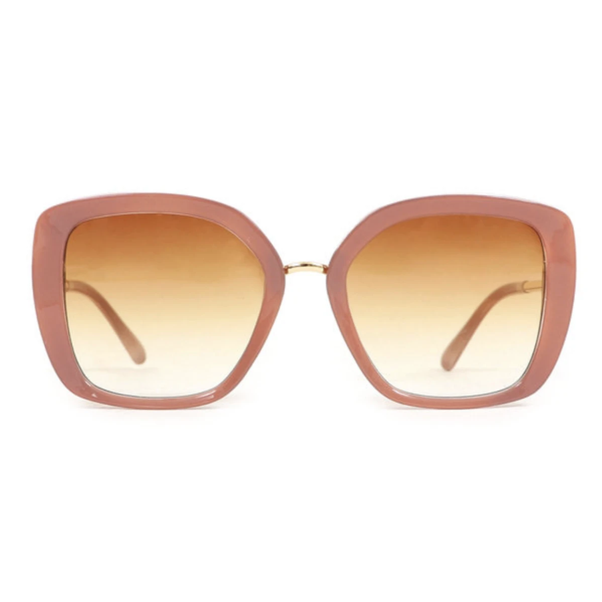 Powder Serenity Sunglasses in Nude