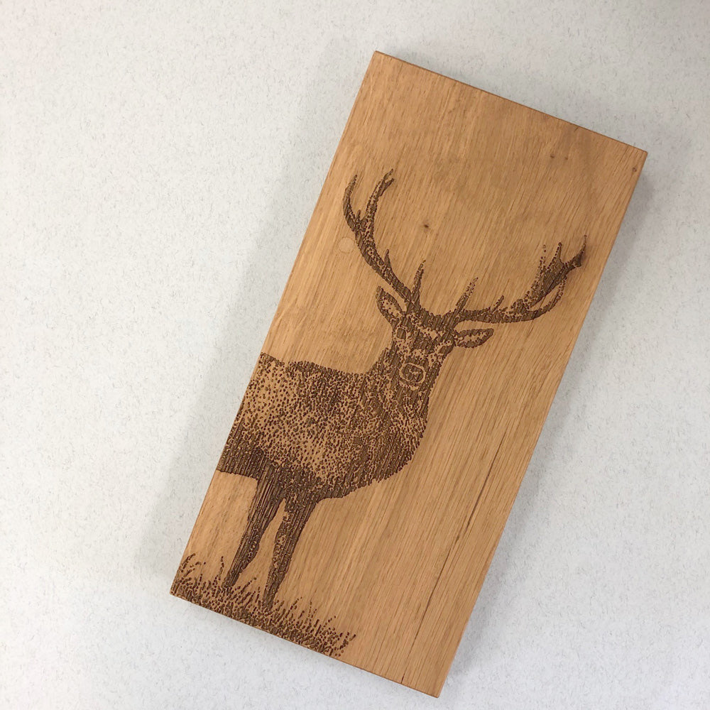 Stag Small Oak Serving Board