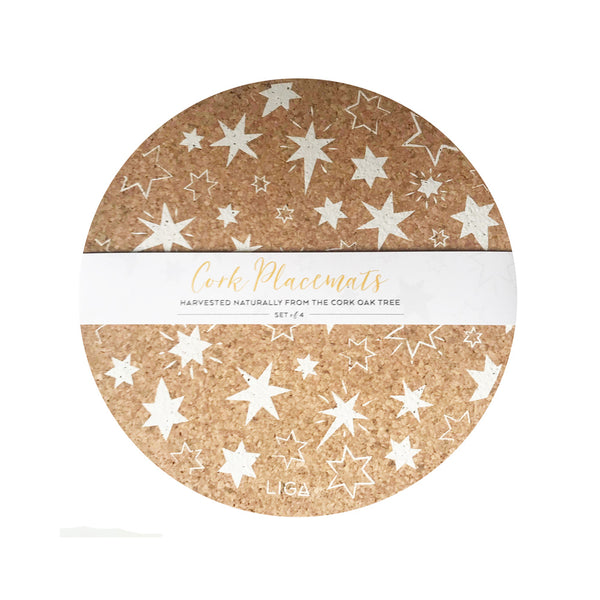 Cork Stars Placemat