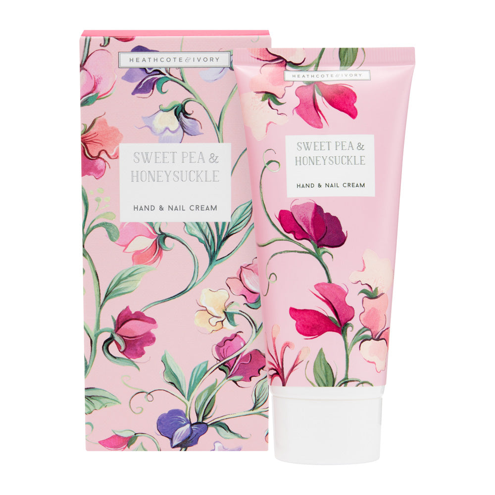 Sweet Pea & Honeysuckle Hand & Nail Cream