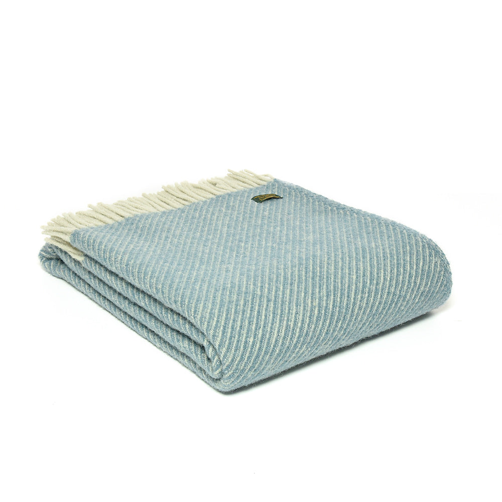 Pure New Wool Throw Petrol