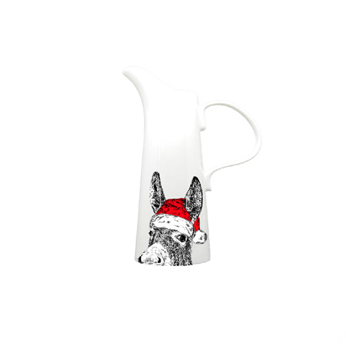 Christmas Donkey Jug - Small