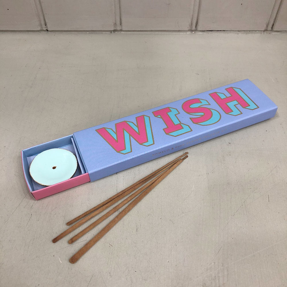 Letterpop Incense Sticks Wish