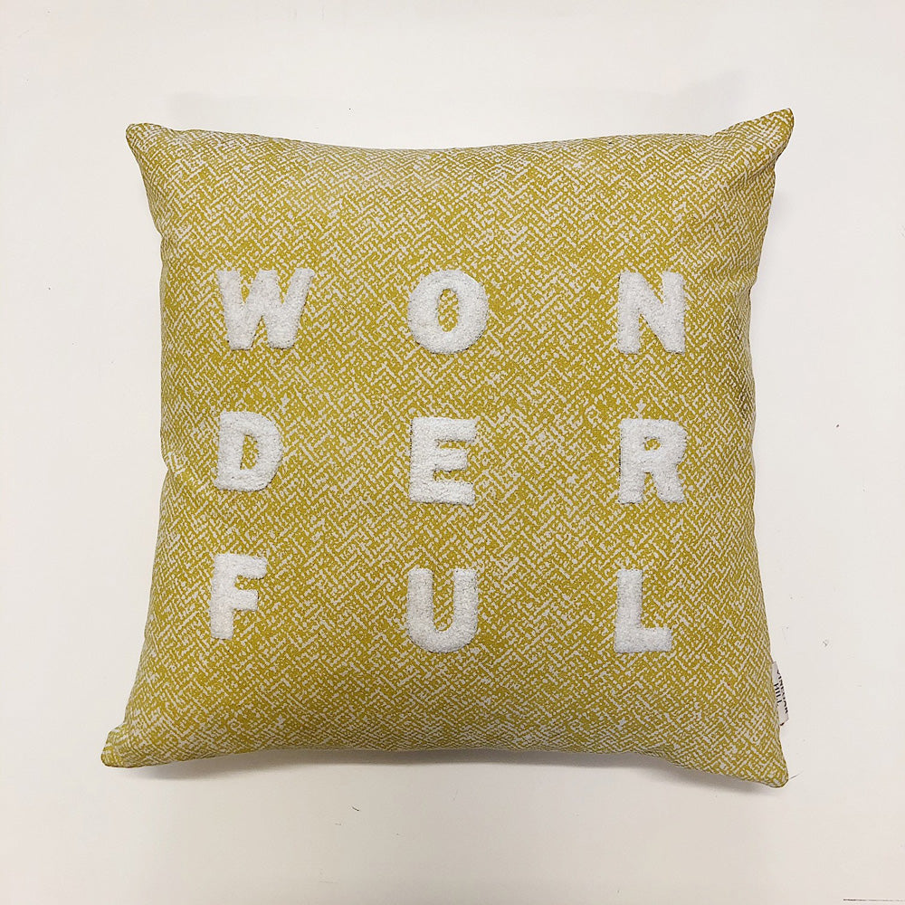 Yellow Wonderful Cushion